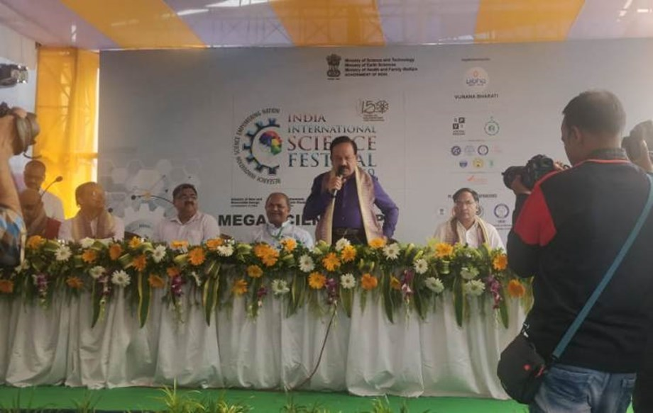 IISF 2019: Dr. Vardhan emphasizes bringing science and technology to doorsteps