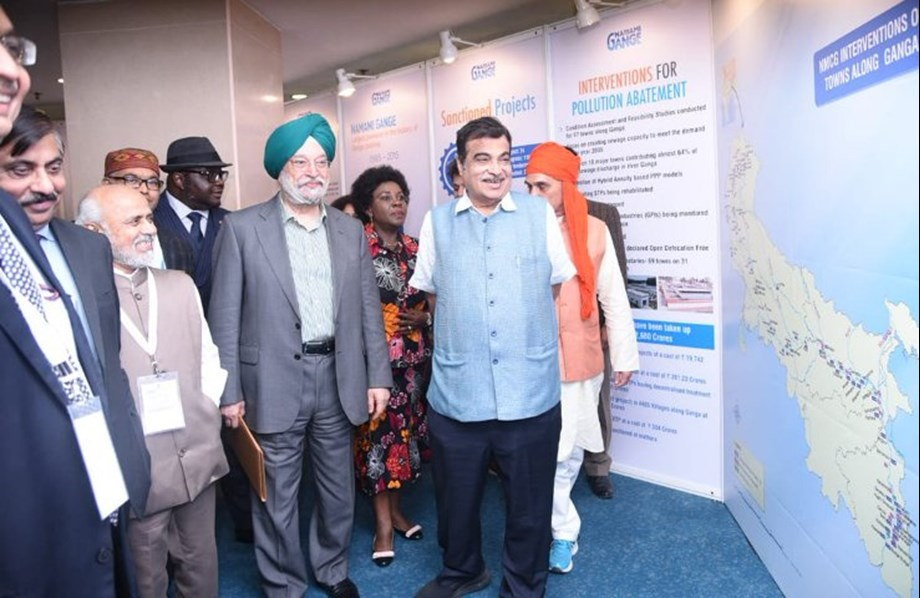 Gadkari expresses satisfaction over positive feedback for Clean Ganga Mission