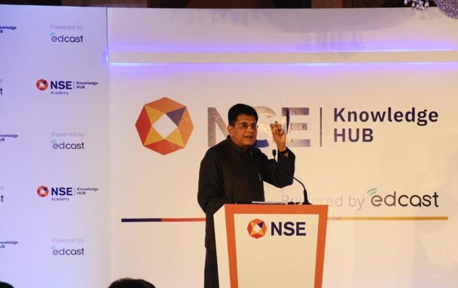 NSE Knowledge Hub will help in preparing talent for BFSI sector: Piyush Goyal