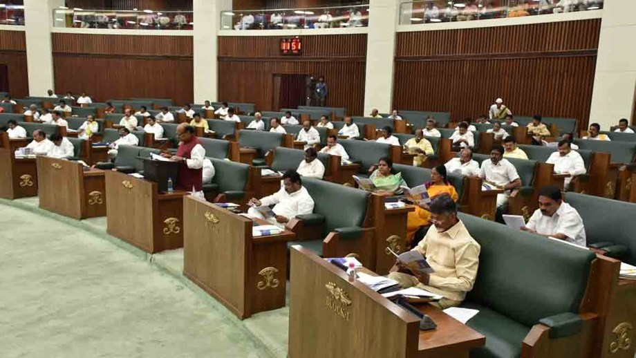 AP assembly elects new Speaker, witnesses uproar over