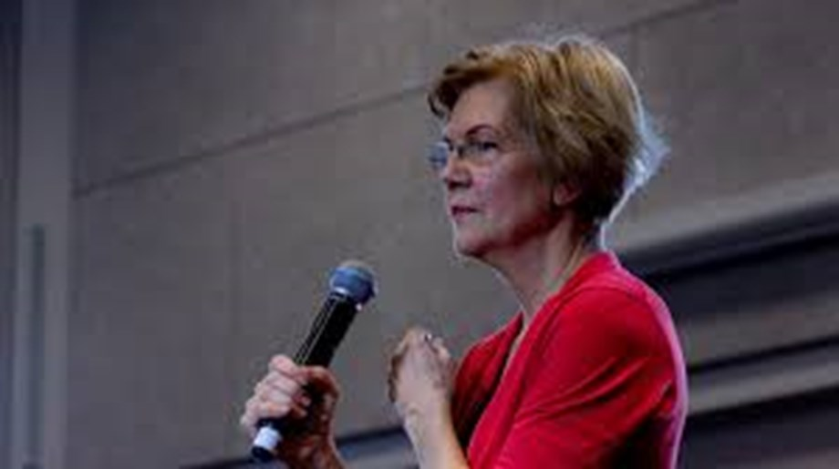 UPDATE 1-Warren calls on big U.S. banks to disclose preparation for climate risk