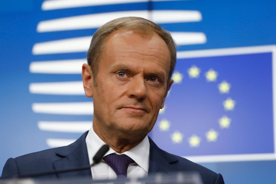 "EU's Tusk says Brexit delay to Jan.31 ""may be the last one"""