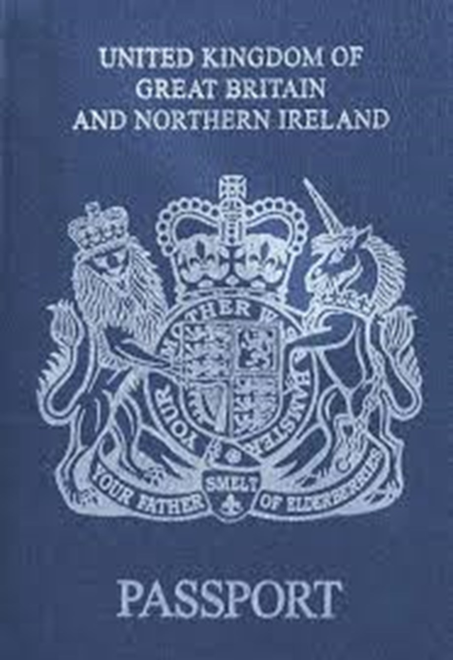 New UK Passports start to be issued, No EU mark on front cover