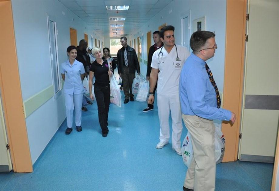 Indrani Mukerjea aken to JJ Hospital