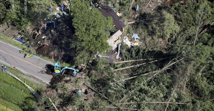 Japan earthquake death toll hits 44, no more missing