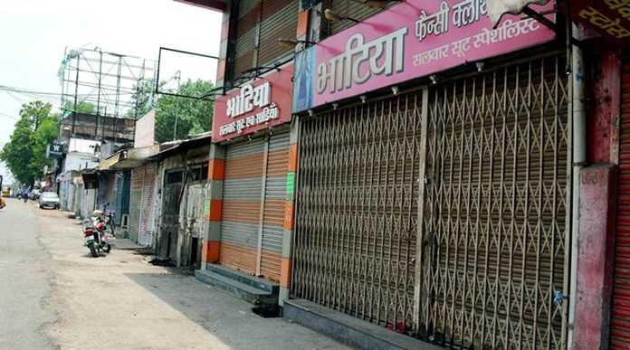 Bharat Bandh: Gujrat gets mixed response, 300 detained