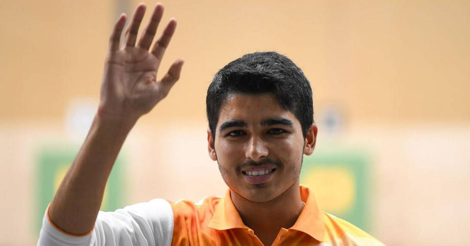 Indian shooter Saurabh Chaudhary wins gold in 10m air pistol event at Youth Olympics
