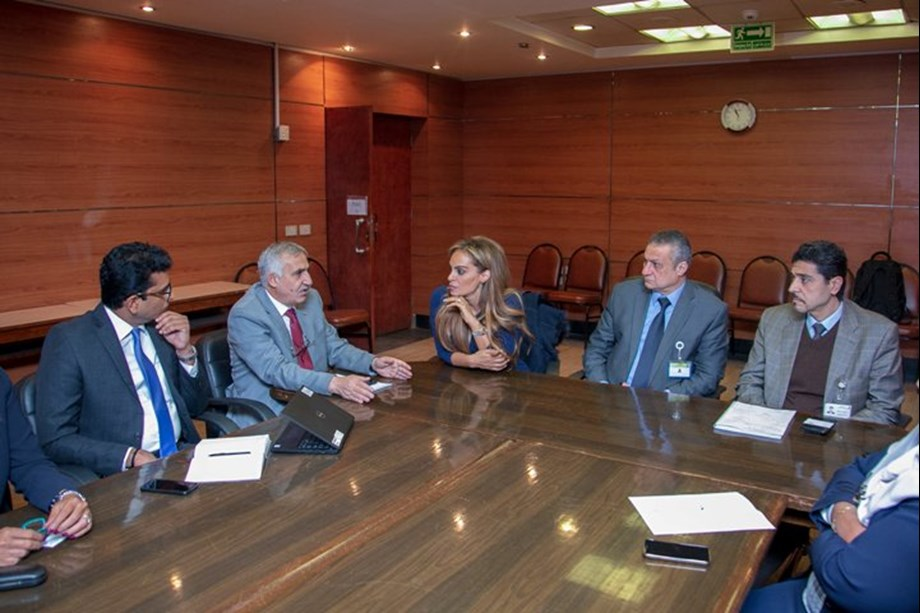 Merck Foundation CEO holds meeting with National Cancer Institute in Egypt