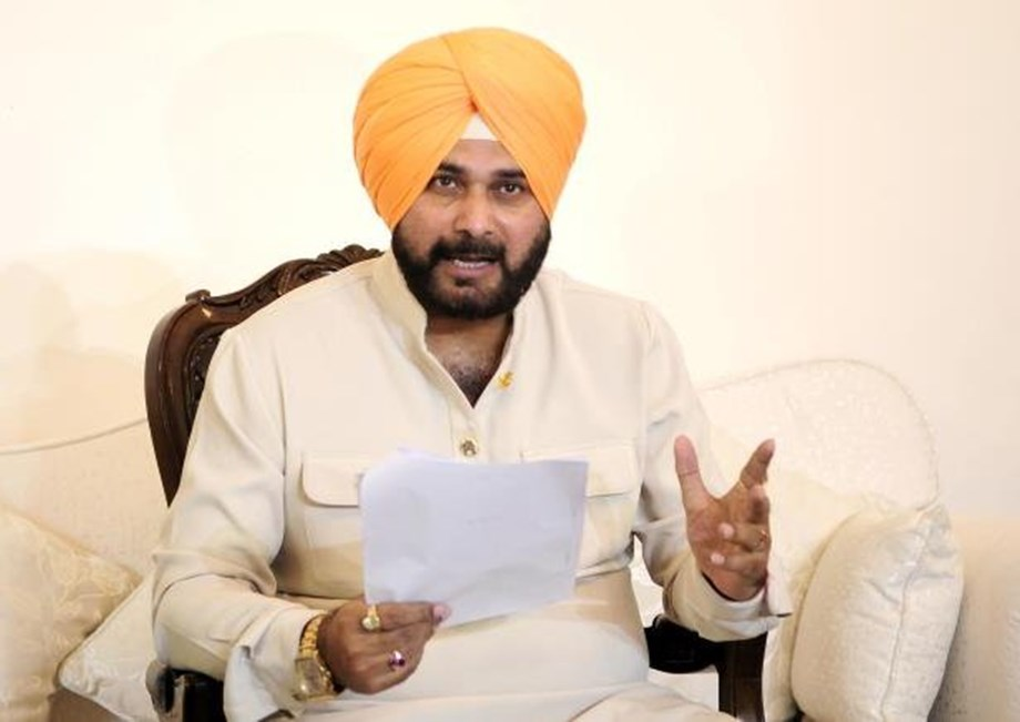 Navjot Singh Sidhu says allotment of133 plotsof Improvement Trust was being reviewed