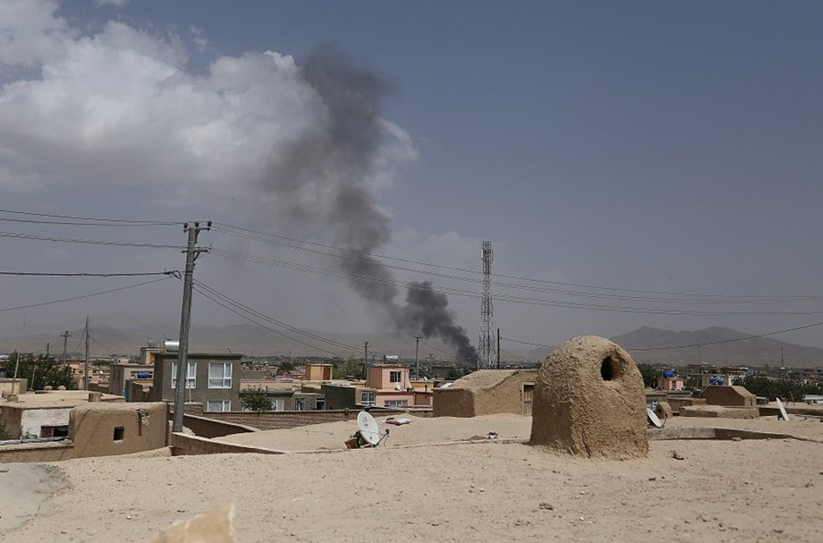 At least 20 policemen dead as Taliban ambush convoy in Afghanistan