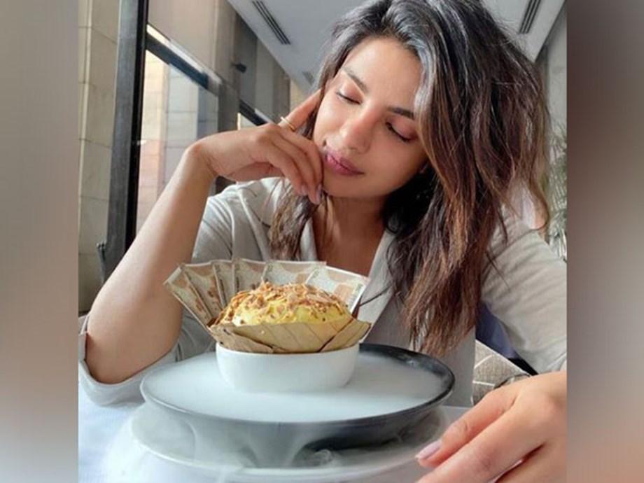 Priyanka Savours Her First Daulat Ki Chaat While Shooting For The