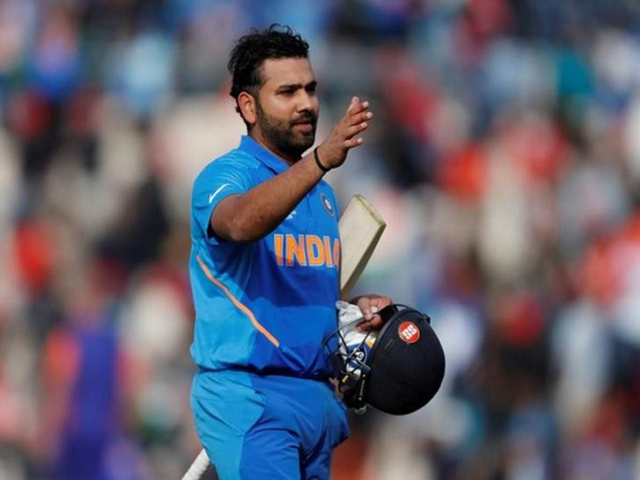 Rohit gives pep talk to struggling Mumbai Ranji team
