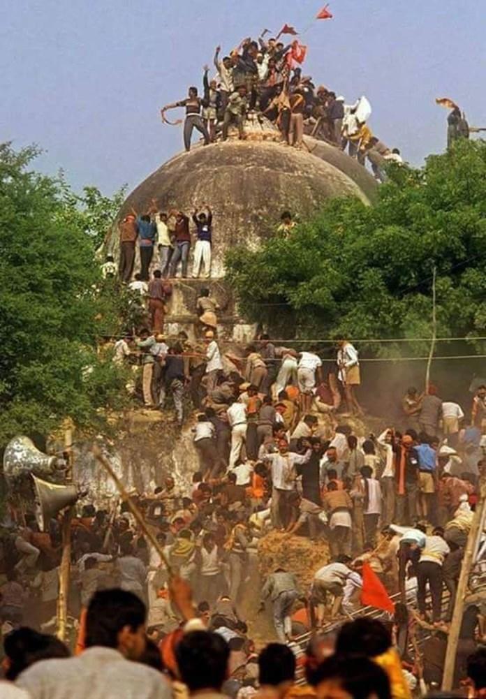 Indian fundamentalist group VHP, Bajrang Dal celebrates Babri mosque demolition