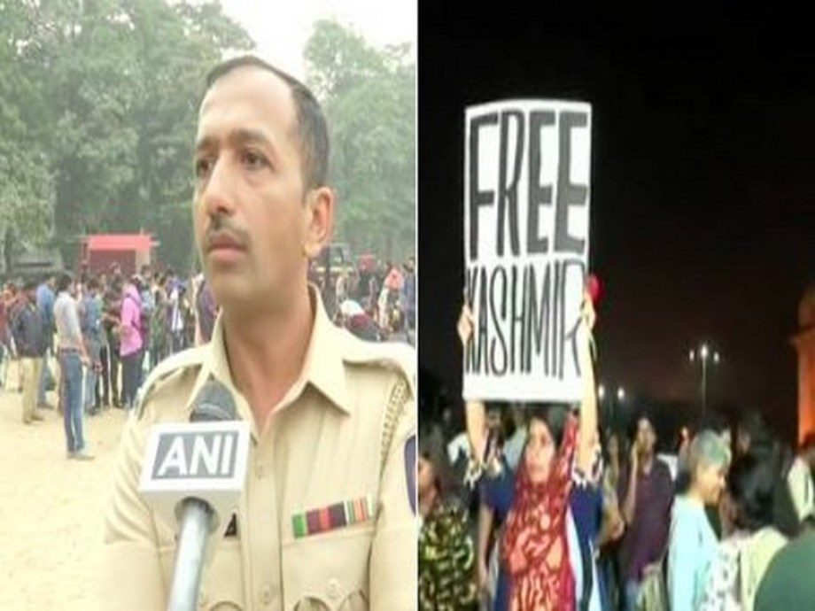 Taken serious cognisance of 'free Kashmir' poster seen at Gateway of India during protest against JNU violence, says DCP