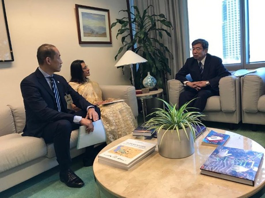 ADB looks forward to work with WHO to achieve universal health coverage: President Nakao