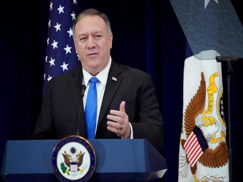 """The West is winning"", U.S.' Pompeo tells China, Russia"
