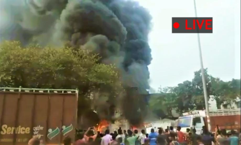 Punjabi Bagh fire: Massive fire in Delhi; 22 fire tenders rush to spot