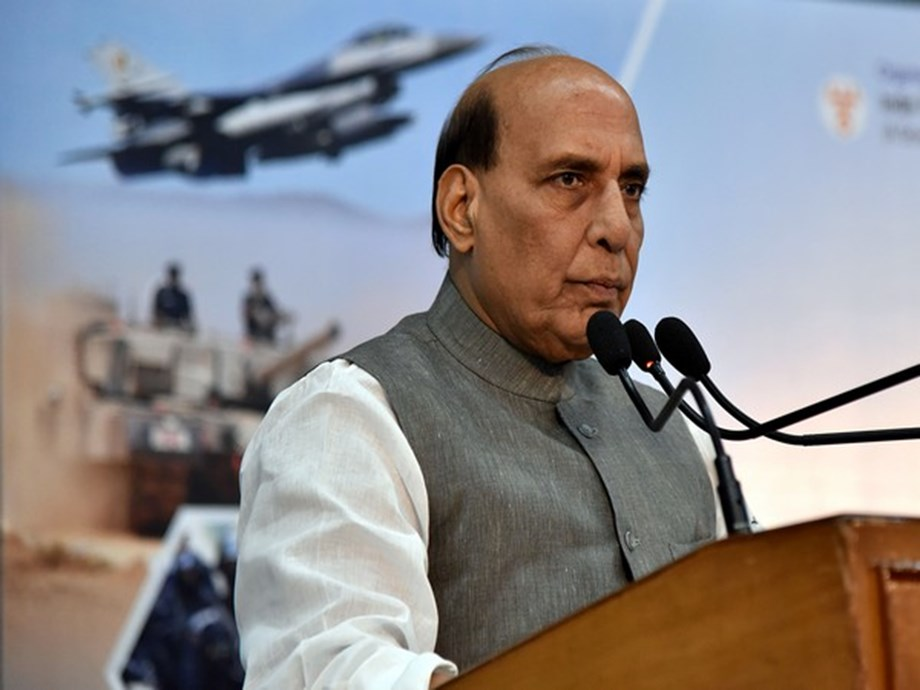 Rajnath Singh to hold talks with French President before sortie in Rafale jet