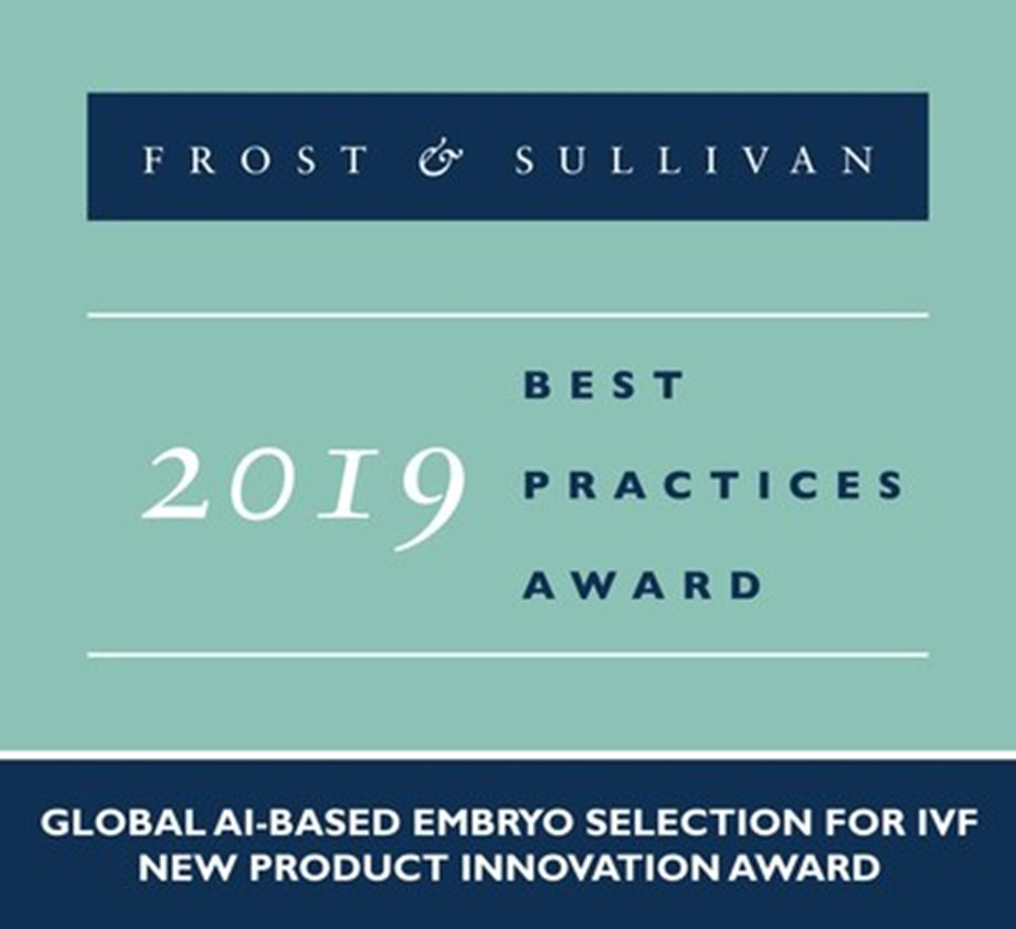 Life Whisperer Commended by Frost & Sullivan for Its First-of-a-Kind Cloud-based IVF Image Analysis Software Solution