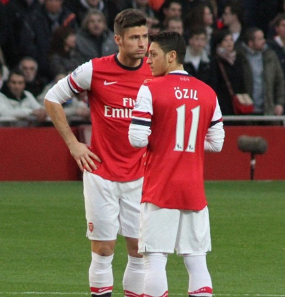 Arsenal's Ozi may miss Saturday match against Huddersfield Town