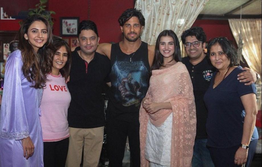 Sidharth Malhotra starts shooting for 'Marjaavaan'