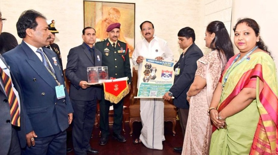 VP Naidu salutes Armed Forces for their contribution to national security