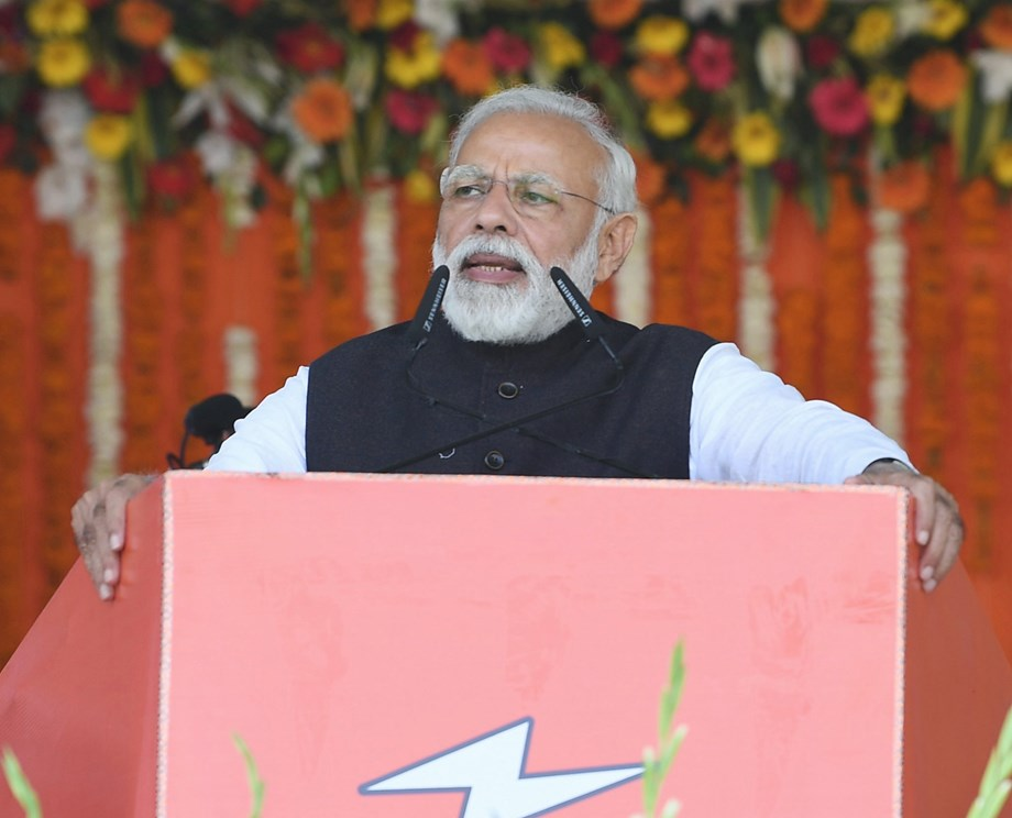 BJP claims Modi already covered 100 LS constituencies in 22 states in past weeks