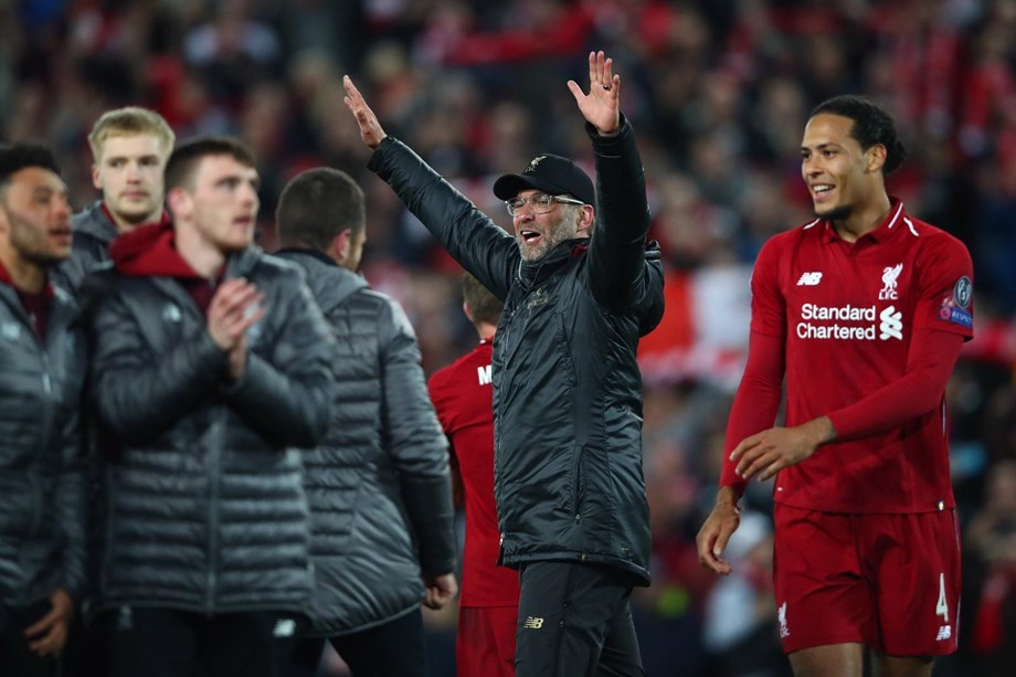 Liverpool crush Barca to book finals berth in Champions League
