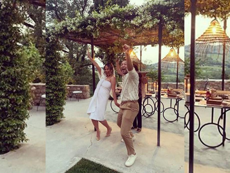 Chrissy Teigen Remarries John Legend In 'Four Weddings