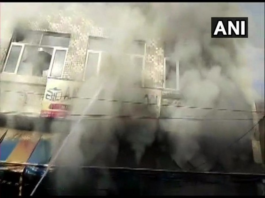 Fire breaks out at Doordarshan Kendra in Mathura, operations hit