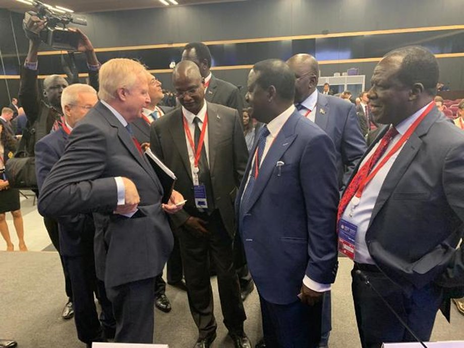 V. President leads South Sudanese delegation to St Petersburg Int'l Economic Forum