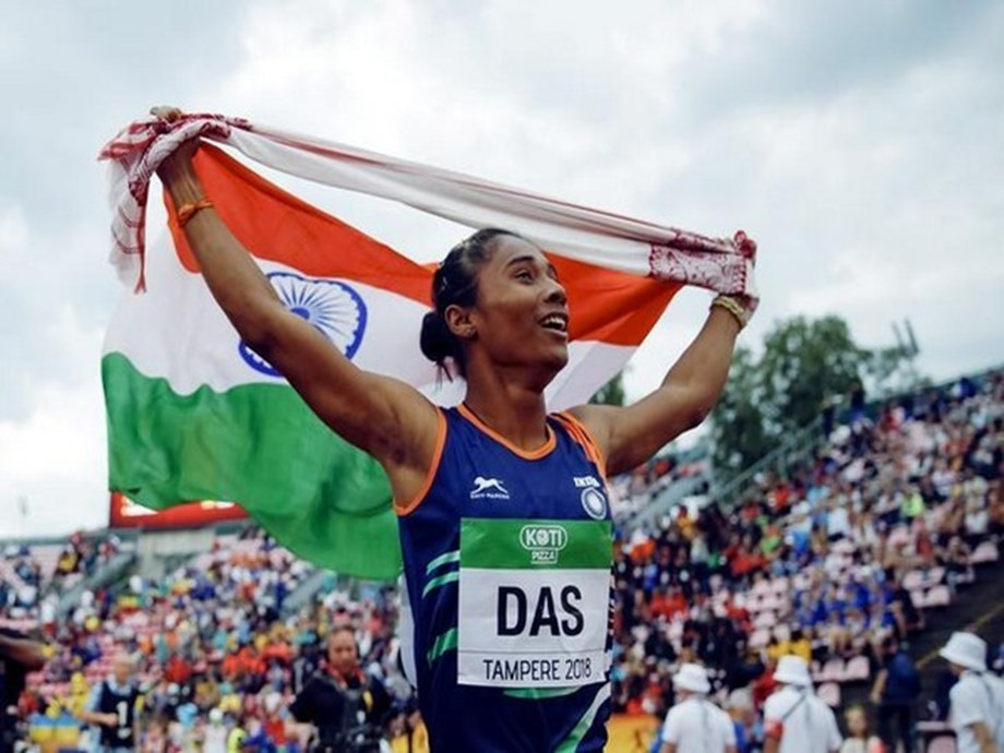 Hima bags gold at Kutno Athletics Meet, second in a week