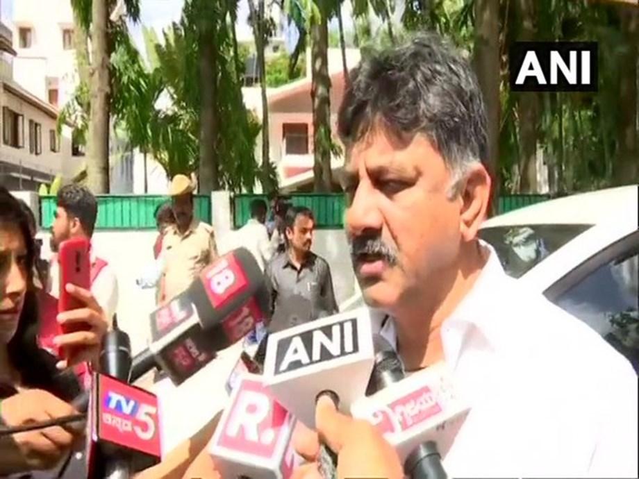 Yeddyurappa's PA has hijacked MLA H Nagesh: DK Shivakumar