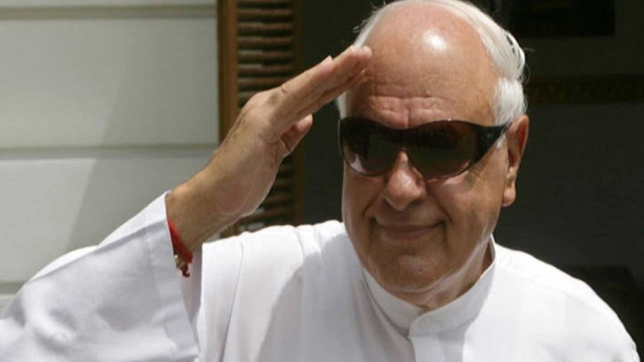 BJP thinks lord Rama will vote for them: Farooq Abdullah