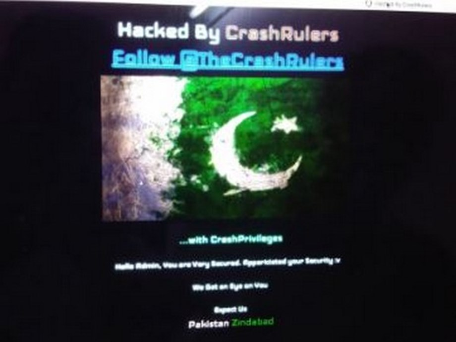 Website of Pak state broadcaster briefly hacked