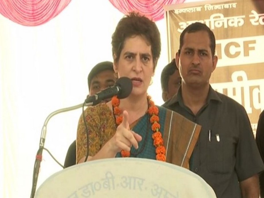Centre goes silent after destroying economy: Priyanka