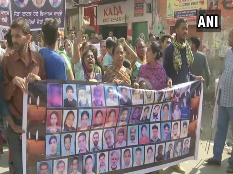 Amritsar train tragedy 2018: Victim's families take out protest march on Dussehra to mark anniversary
