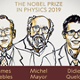 Nobel Prize in Physics 2019 awarded to Peebles, Michel Mayor and Queloz