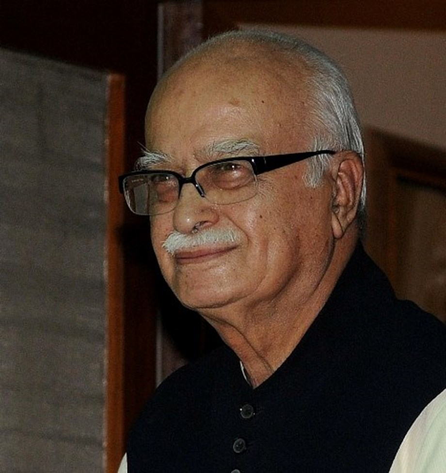 Top BJP leaders greet party veteran Advani on his 91st birthday