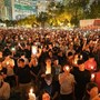 CORRECTED-UPDATE 10-Hong Kong mourning for student spirals into street violence