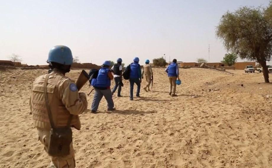 Mali: Land mine explosion killed 2 UN peacekeepers from Sri Lanka; many injured