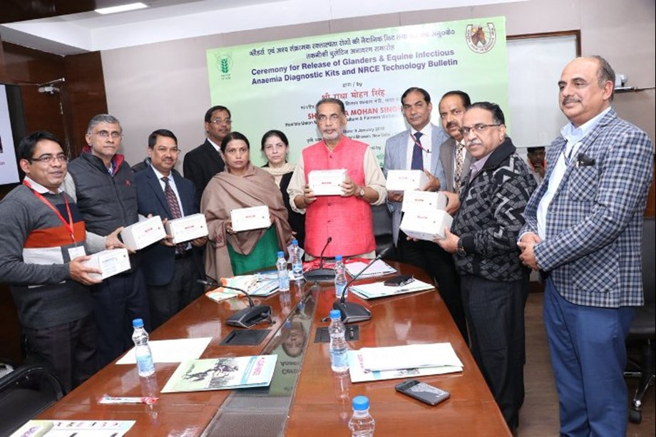 Radha Mohan Singh releases recombinant ELISA kits for Glanders and EIA