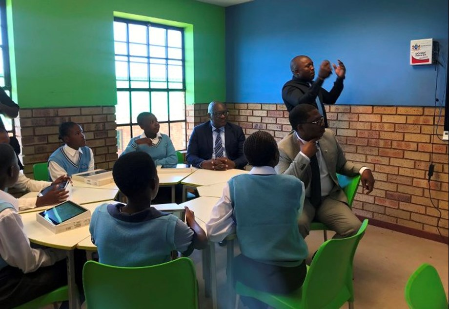 Menzi Primary school kicks off 2019 academic year with digital boards