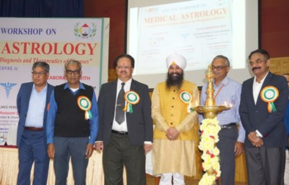 Apex Professional University, Arunachal Pradesh in Collaboration With National Institute of Unani Medicine Bengaluru Hosted One-day Workshop on Medical Astrology