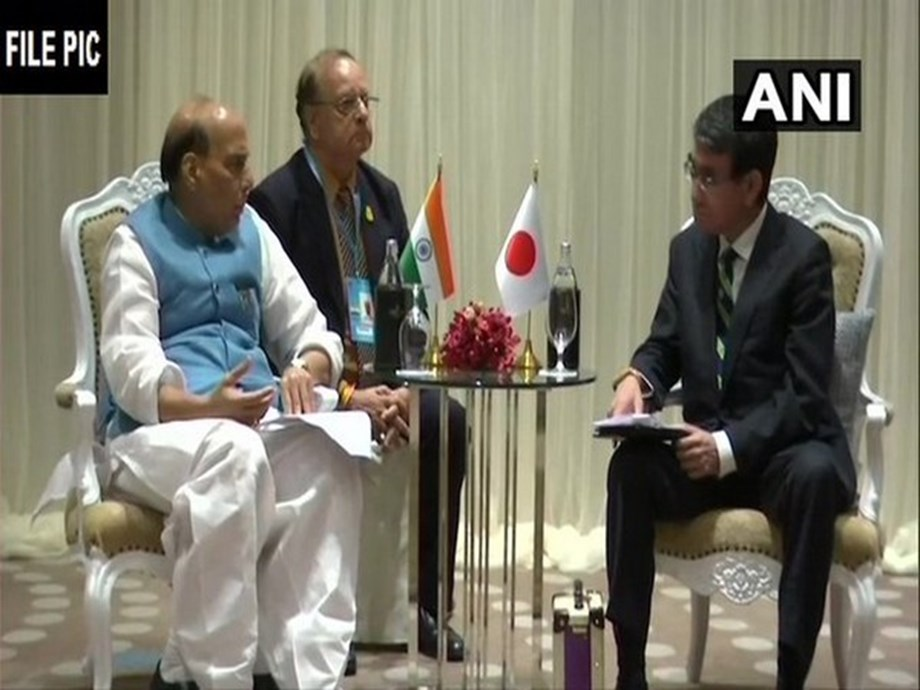 Rajnath Singh discusses bilateral relations, regional security situation with Japanese counterpart