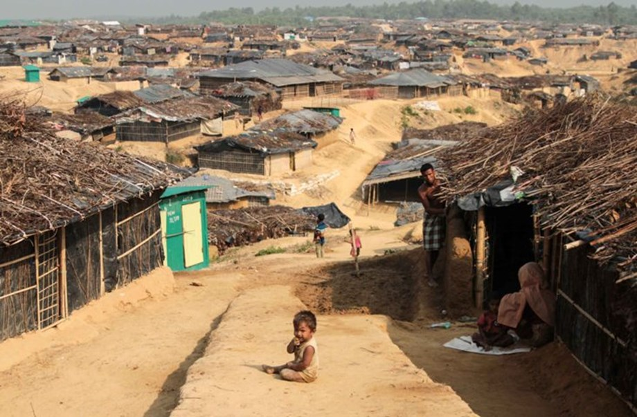Continuing violence in Myanmar with civilians forced to flee into Bangladesh