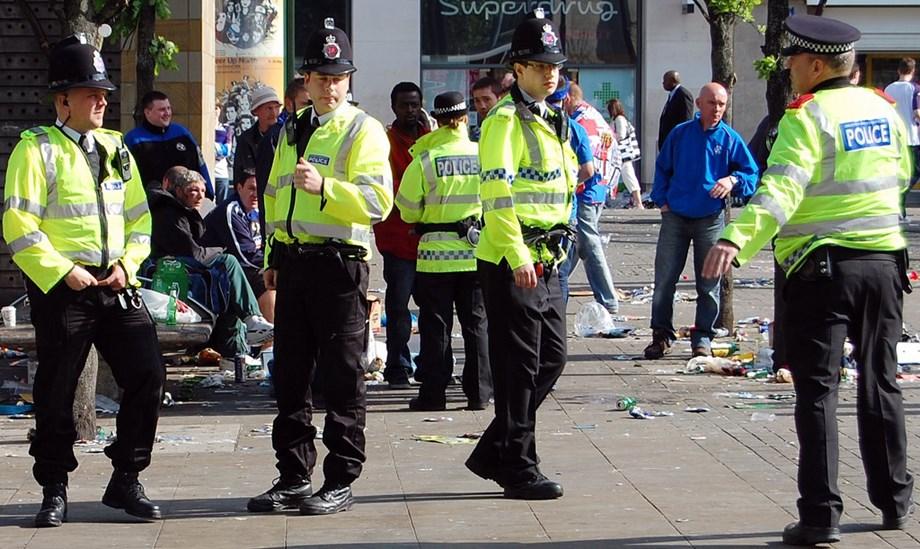 UK police witness crash of microcraft in northwest England