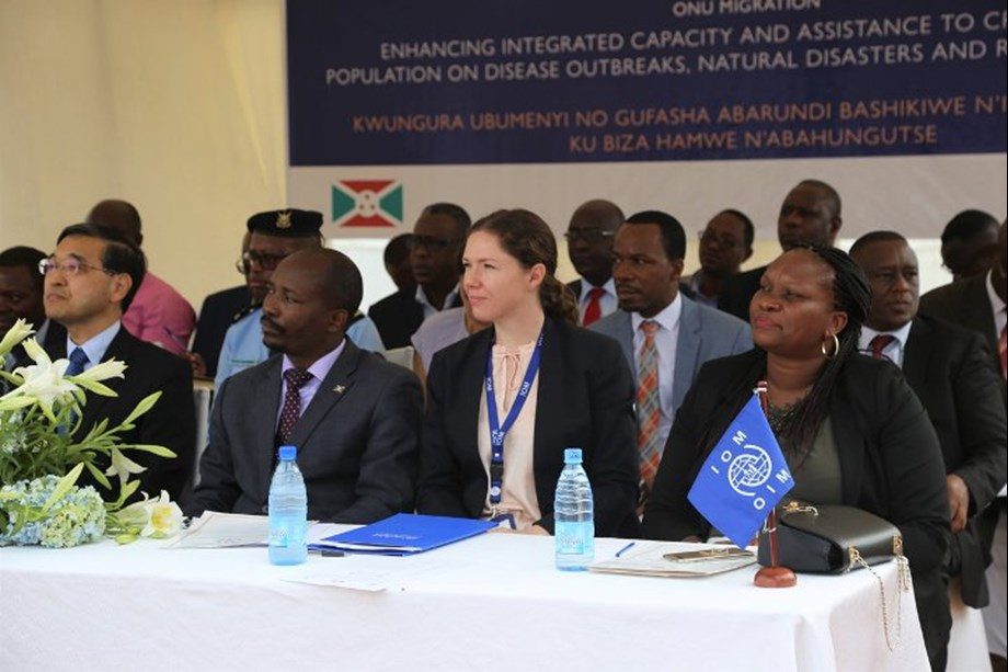 Health-Japan, IOM support efforts to respond to disease outbreaks, disasters in Burundi