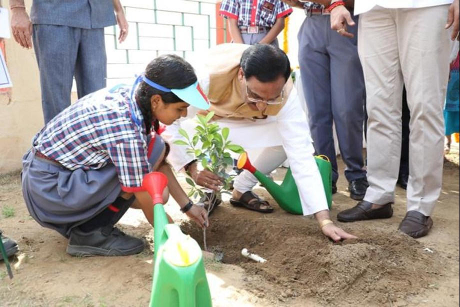 HRD Minister appeals students to become brand ambassador of water conservation