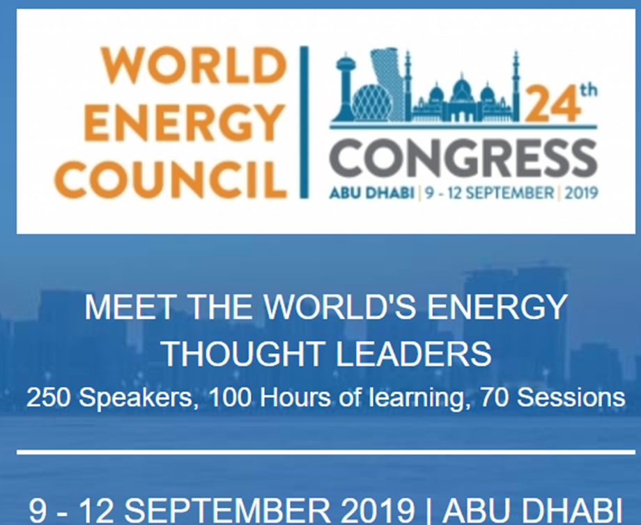 World Energy Congress 2019: Innovations and Narratives